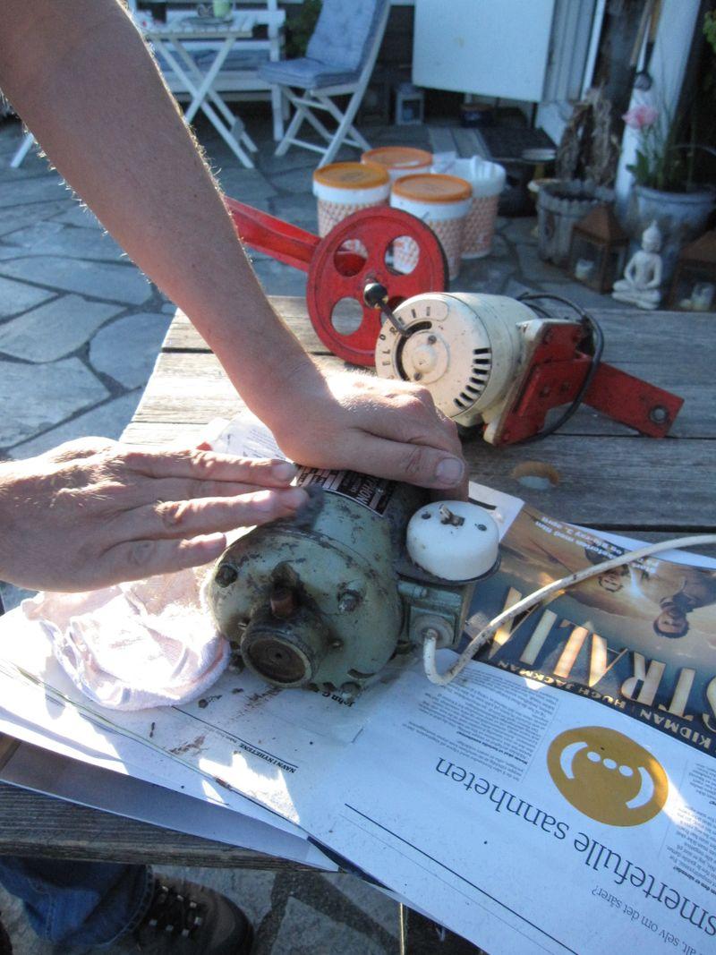Henting av materiell i Øygarden.1.juni 20092009 217